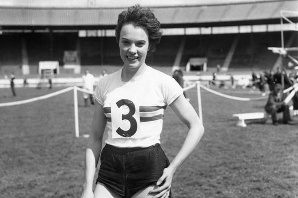 British sprinter June Foulds (Getty / Hulton)