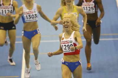 Convincing 800m victory for Oksana Zbrozhek in Birmingham (Getty Images)