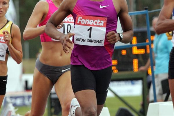 Caster Semenya en route to her 800m victory in Lapinlahti (Paula Noronen)
