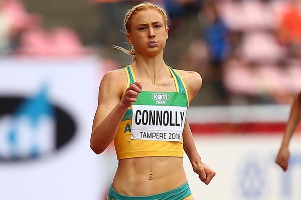 Australian sprinter Ella Connolly (Getty Images)