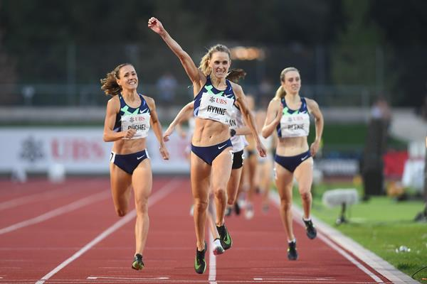National 800m record for Hedda Hynne in Bellinzona (Ti-Press / Alessandro Crinari (organisers))