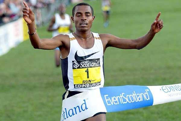 Kenenisa Bekele takes stunning sprint win in Edinburgh (Mark Shearman)