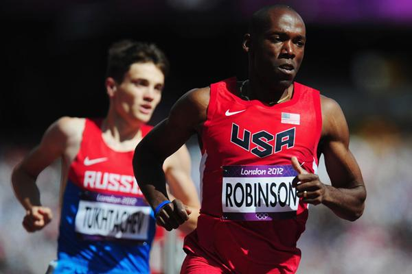 American 800m runner Khadevis Robinson (Getty Images)