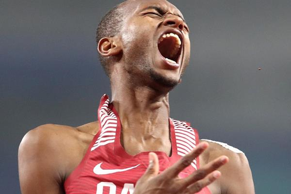 Mutaz Barshim is on fire in Doha! IAAF World Championships Doha 2019 (Getty Images)
