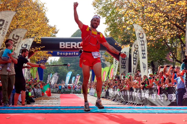 Luis Alberto Hernando wins the World Trail-Running Championships in Geres (iRunFar)