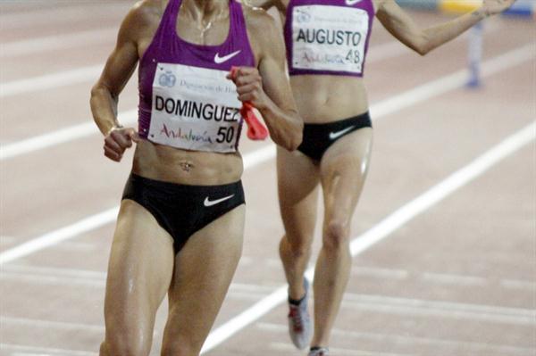 9:17.07 for Marta Dominguez in Huelva (Francisco Javier Aznar)