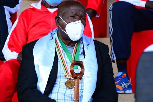 Wilson Kiprugut Chomo, the first Kenyan Olympic medallist (bronze at 800m in 1964) (Erick Baraza)