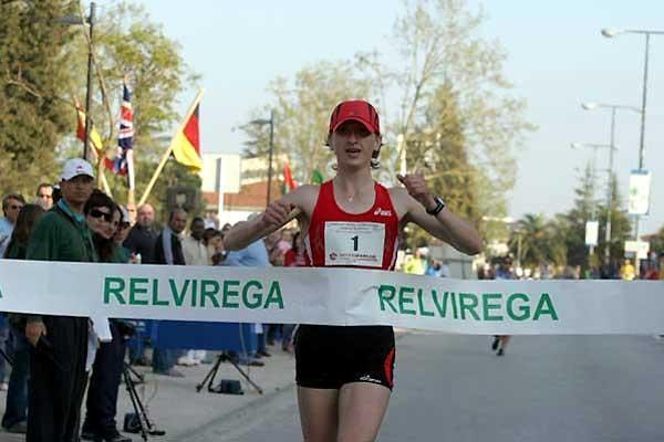 Belarussia's Ryta Turava wins in Rio Maior (Marcelino Alemeida)