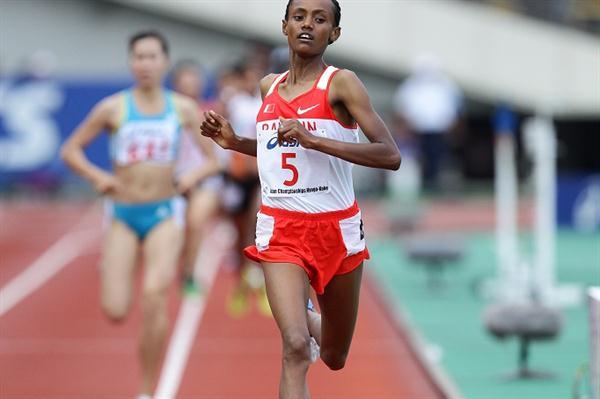2011 Asian 1500m champion Genzeb Shumi Regasa (Yohei KAMIYAMA / Agence SHOT)