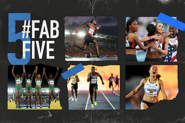 Fab five: World Relays shock performances (Getty Images)