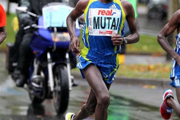 Geoffrey Mutai, the real_Berlin Marathon runner-up (Victah Sailer)