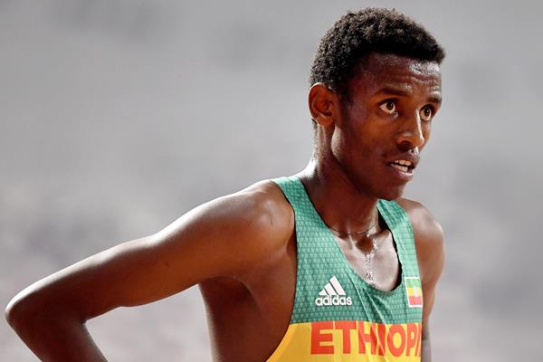 Ethiopian steeplechaser Lamecha Girma (AFP / Getty Images)