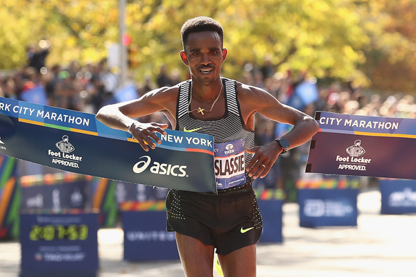 Ghirmay Ghebreslassie wins the New York City Marathon (Getty Images)