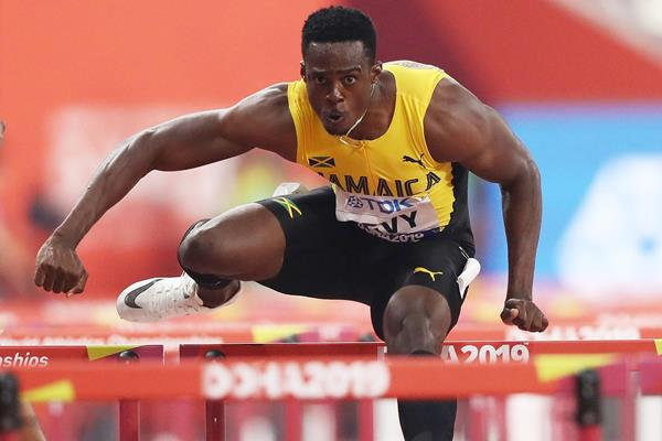 Ronald Levy at the IAAF World Athletics Championships Doha 2019 (Getty Images)