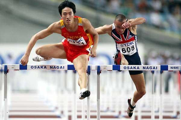Liu Xiang (CHN) - 110m Hurdles semi-final (Getty Images)