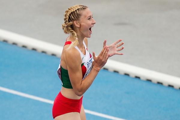 Elvira Herman wins 100m hurdles gold in Bydgoszcz ()