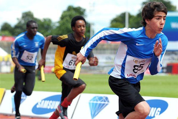 Kids' Relay at Crystal Palace - IAAF Centenary (Mark Shearman )