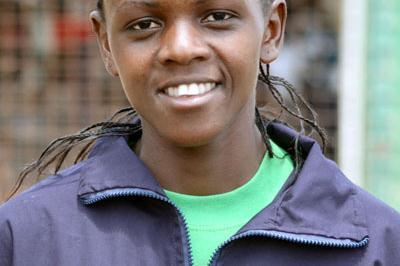 Grace Momanyi, Kenyan 8 km champion (Ricky Simms)