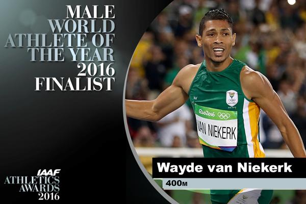 Wayde van Niekerk World Athlete of the Year Finalist ()