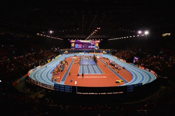 Arena Birmingham, venue for the IAAF World Indoor Championships (Getty Images)