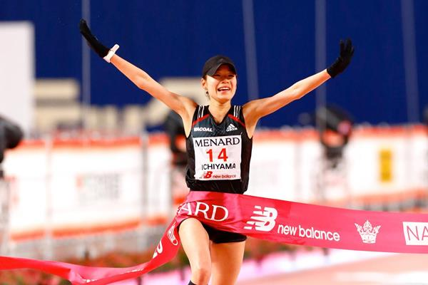 Mao Ichiyama wins the Nagoya Women's Marathon (Agence SHOT)