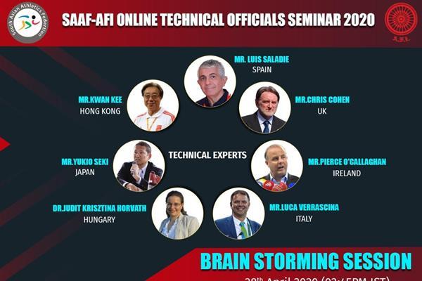 2020 online seminar for technical officials (AFI)