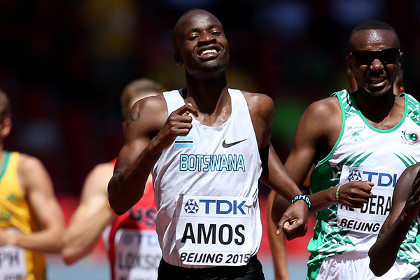 Nijel Amos in the 800m at the IAAF World Championships Beijing 2015 (Getty Images)