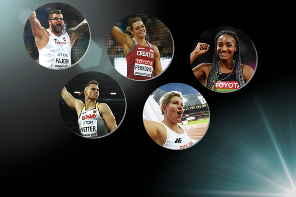 2017 World Athlete of the Year longlist nominees - throws (Getty Images)