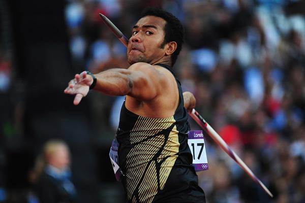 Fiji's Leslie Copeland at the London 2012 Olympic Games (Getty Images)