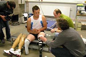Oscar Pistorius testing - Cologne (c)