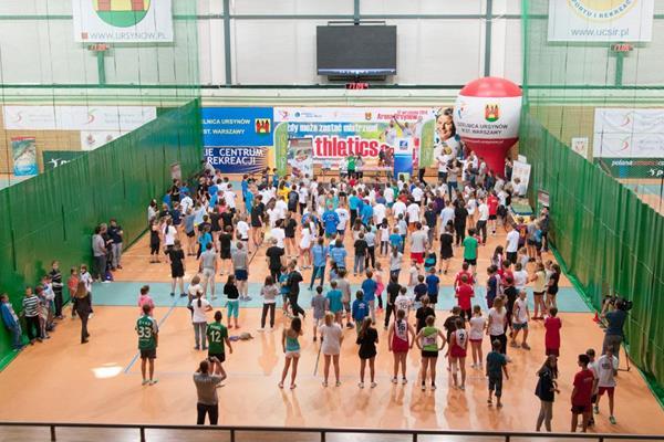 The athletics camp in Warsaw, organised by the Kamila Skolimowska Foundation (Organisers)