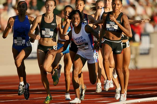 Chanelle Price at the 2008 US Trials ()