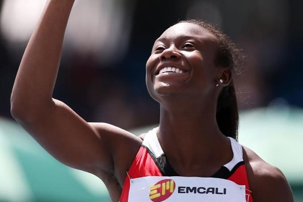 Khalifa St. Fort at the IAAF World Youth Championships, Cali 2015 (Getty Images)