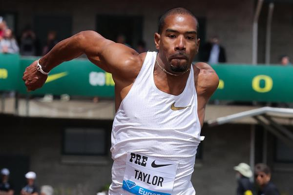 More late-round triple jump heroics by Christian Taylor at the IAAF Diamond League meeting in Eugene (Victah Sailer)