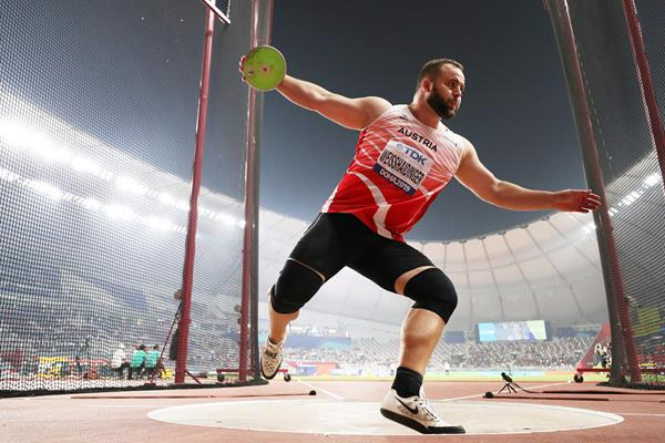 Lukas Weisshaidinger in the discus at the IAAF World Athletics Championships Doha 2019 (Getty Images)