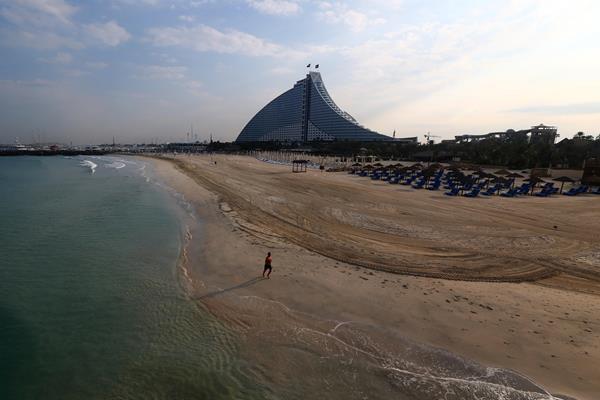 Jumeirah Beach in Dubai (AFP / Getty Images)
