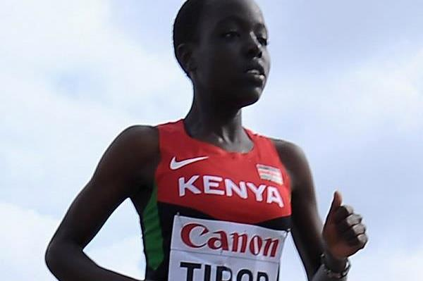 Kenyan distance runner Agnes Tirop (Getty Images)