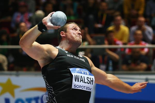 Tomas Walsh - New Zealand's shot put bronze at Sopot 2014 ()