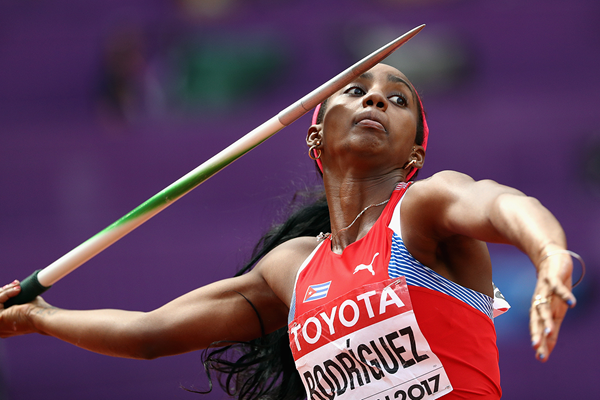 Cuban heptathlete Yorgelis Rodriguez (Getty Images)
