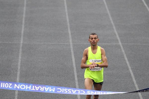 2:11:40 race record for Abdelkerim Boubker in Athens (Organisers)