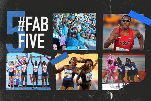 Fab five: reasons we love World Relays (Getty Images)