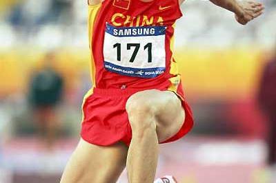 Li Yanxi triple jumps to 17.06m PB at Asian Games (Getty Images)