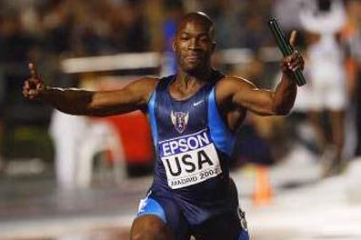Coby Miller anchors the men's 4x100m relay (Getty Images)
