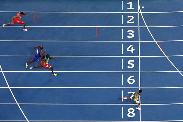 Wayde van Niekerk wins the Olympic 400m title (Getty Images)
