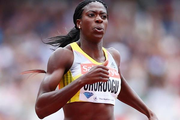 Christine Ohuruogu on her way to winning the 400m (Getty Images)