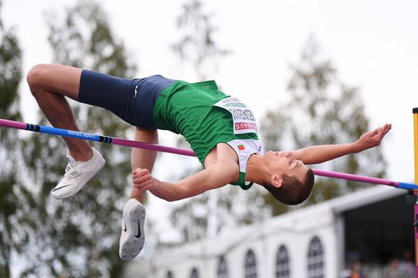 Belarusian high jumper Maksim Nedasekau (Getty Images)
