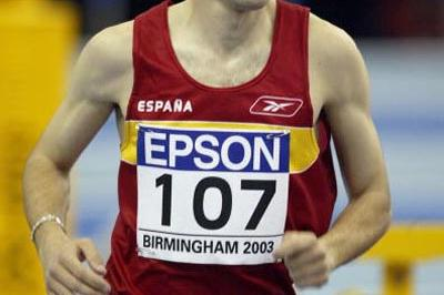 Jesus Espana (ESP) - 3000m heats (Getty Images)