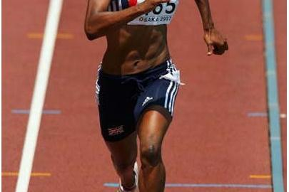 Montell Douglas (GBR) (Getty Images)