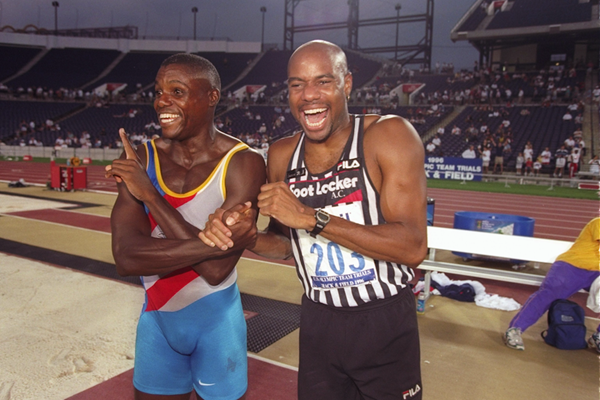 Mike Powell and Carl Lewis ()