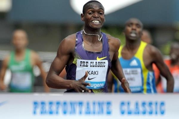 World leading 1000m for Abubaker Kaki in Eugene (Kirby Lee)